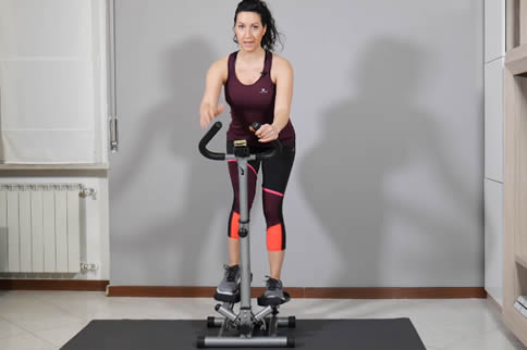 健身房踏步机利用方式先容