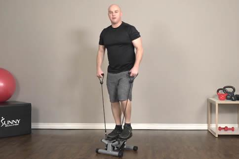 准确的踏步机利用方式讲授